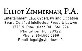 Elliot Zimmerman, Board Certified Intellectual Propert Lawyer